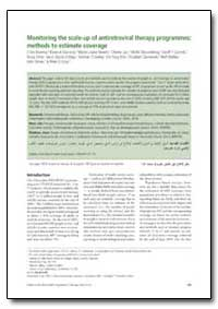 Bulletin of the World Health Organizatio... by J Ties Boerma