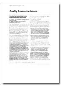 World Health Organization Drug Informati... by H. Leblanc