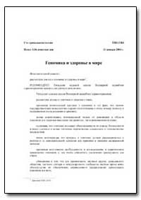 Executive Board : 2004, Document, No. Eb... by World Health Organization