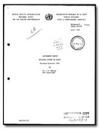 World Health Organization : (Emro) Regio... by I. G. Murray, Dr.