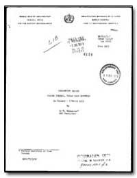 World Health Organization : (Emro) Regio... by M. Bahmanyar, Dr.