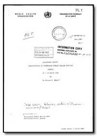 World Health Organization : (Emro) Regio... by Kontad W. Bogel., Dr.