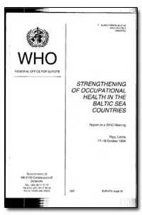 European Occupational Health Series : 19... by Boguslaw Baranski, Dr.
