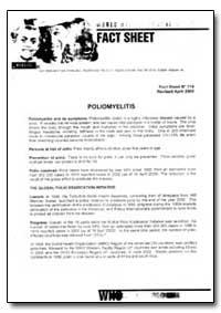 World Health Organization Fact Sheet, Ye... by World Health Organization