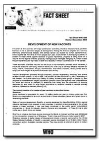 World Health Organization Fact Sheet, Ye... by World Health Organization