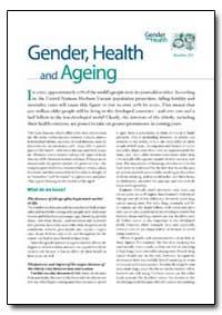 Gender, 2003, A85586 by World Health Organization