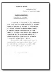 Historical : Health Organisation, Malari... by World Health Organization