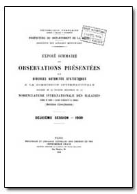 Historical : Nomenclatures, Observation1... by World Health Organization