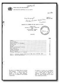 World Health Organization : Year 1985-86... by Anthony S. Thomas