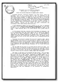 World Health Organization : Year 1985-86... by H. Mahler, Dr.