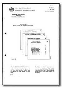 World Health Organization : Year 1985-86... by Health Systems and Manpower Development