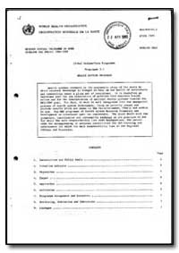 World Health Organization : Year 1985-86... by Global Medium-Term Programme