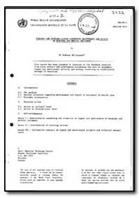 World Health Organization : Year 1985-86... by Andreas Mallouppas
