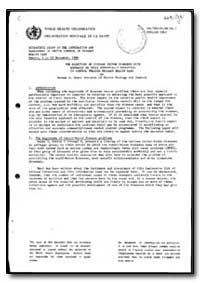 World Health Organization : Year 1985-86... by Norman Go Gratz, Dr.
