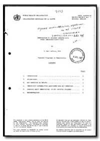World Health Organization : Year 1985-86... by F. Marc Laforce, Dr.