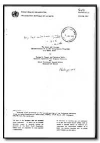 World Health Organization : Year 1985-86... by Thelma E. Tupasi