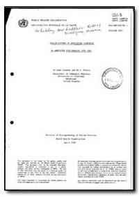 World Health Organization : Year 1985-86... by Leah Leneman, Dr.