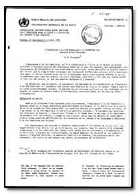 World Health Organization : Year 1985-86... by N. Kadagoda, Dr.