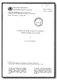 World Health Organization : Year 1985-86... by Olivier Jeanneret, Dr.