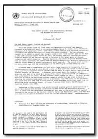 World Health Organization : Year 1987, F... by R. S. Hare