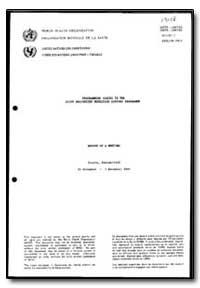 World Health Organization : Year 1987 ; ... by Eduardo Guillen, Dr.