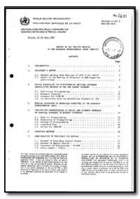 World Health Organization : Year 1987 ; ... by T. Godal, Dr.