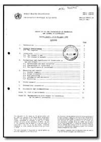 World Health Organization : Year 1987 ; ... by H. Schulze