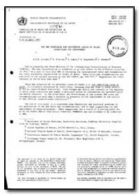 World Health Organization : Year 1987 ; ... by B. I. B. Lindahl