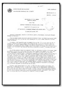 World Health Organization : Year 1987 ; ... by H. Mahler, Dr.