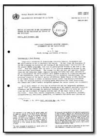World Health Organization : Year 1987 ; ... by C. P. Pant