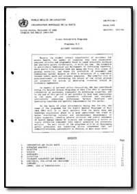 World Health Organization : Year 1988, A... by World Health Organization