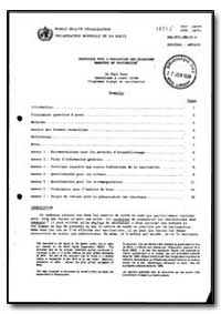 World Health Organization : Year 1988 ; ... by Paul Sato, Dr.