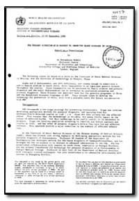 World Health Organization : Year 1988 ; ... by Bernadette Modell, Dr.