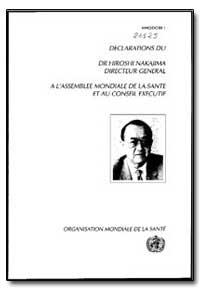 World Health Organization : Year 1989 ; ... by Hiroshi Nakaiima, Dr.