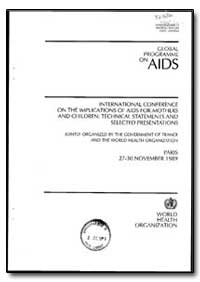 World Health Organization : Year 1989 ; ... by World Health Organization