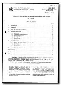 World Health Organization : Year 1990, W... by K. E. Mott