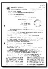World Health Organization : Year 1990, W... by Paula Kokkonen, Llm