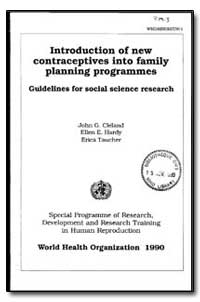 World Health Organization : Year 1990, W... by John G. Cleland