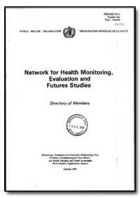 World Health Organization : Year 1991, W... by S. Sapirie, Dr.