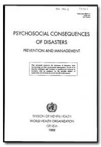 World Health Organization : Year 1991, W... by G. De Girolamo, Dr.