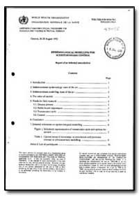 World Health Organization : Year 1992 ; ... by R. Bergquist, Dr.