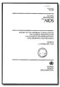 World Health Organization : Year 1992 ; ... by Katherine Aultman, Dr.