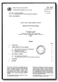 World Health Organization : Year 1992 ; ... by Bernadette Modell, Dr.