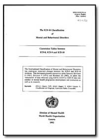 World Health Organization : Year 1992 ; ... by A. Bertelsen, Dr.