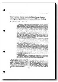 World Health Organization : Year 1993 ; ... by R. G. Feachem
