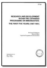 World Health Organization : Year 1993 ; ... by Susan E. Robertson
