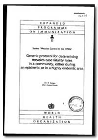 World Health Organization : Year 1993 ; ... by P. Byass