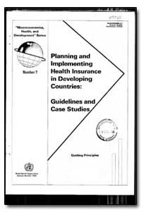 World Health Organization : Year 1993 ; ... by Aviva Ron