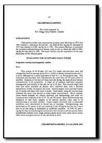 World Health Organization : Year 1993 ; ... by D. J. Clegg