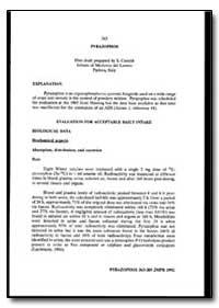 World Health Organization : Year 1993 ; ... by S. Caroldi